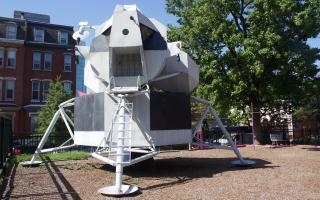 Lunar Module Engineering Module at The Franklin Institute, July 2016